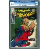 Amazing Spider-Man #69 CGC 8.5 (OW-W) *0180545010*