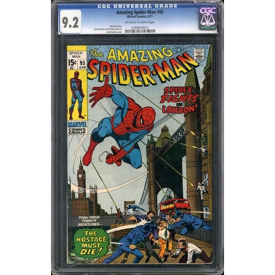 Amazing Spider-Man #95 CGC 9.2 (OW-W) *0184649012*