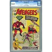 Avengers #2 CGC 4.0 (W) *0187999030*