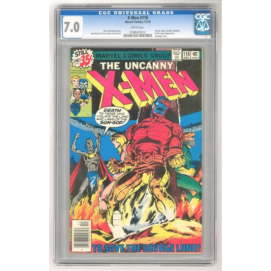 X-Men #116 CGC 7.0 (W) *0188425012*