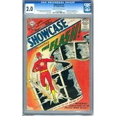 Showcase #4 CGC 2.0 (C-OW) *0191604001*