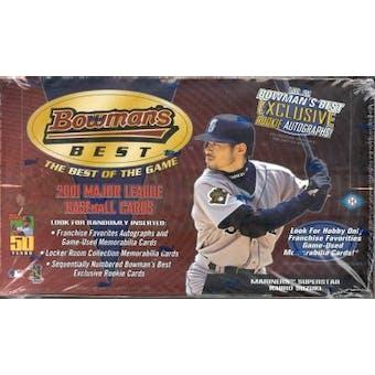 2001 Bowman's Best Baseball Hobby Box