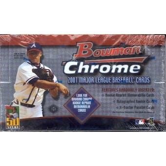 2001 Bowman Chrome Baseball Hobby Box
