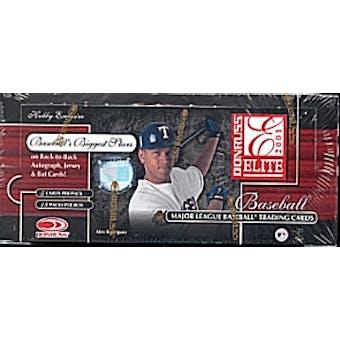 2001 Donruss Elite Baseball Hobby Box