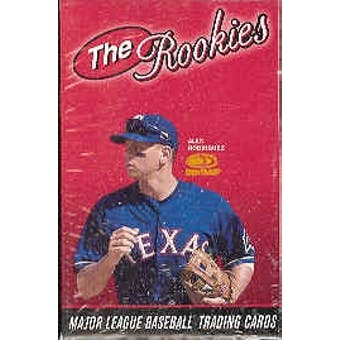 2001 Donruss The Rookies Baseball Factory Set (Box)