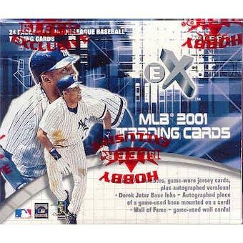 2001 Fleer E-X Baseball Hobby Box