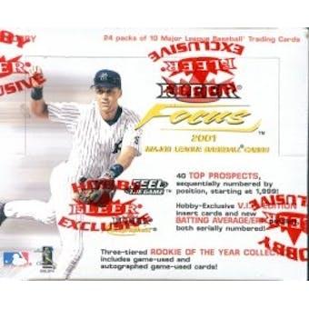 2001 Fleer Focus Baseball Hobby Box