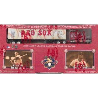 2001 Fleer Red Sox 100th Anniversary Baseball Factory Set (Box)