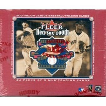 2001 Fleer Red Sox 100th Anniversary Baseball Hobby Box