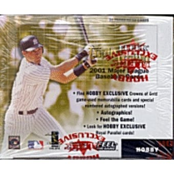 2001 Fleer Triple Crown Baseball Hobby Box