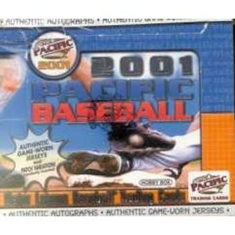 2001 Pacific Baseball Hobby Box