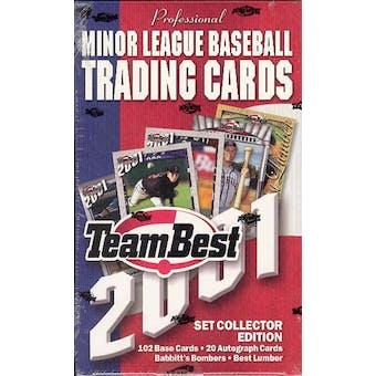 2001 Team Best Baseball Hobby Box