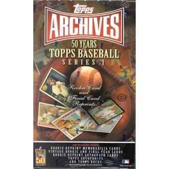 2001 Topps Archives Series 1 Baseball Hobby Box