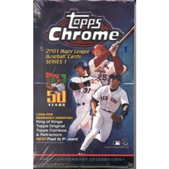 2001 Topps Chrome Series 1 Baseball Hobby Box