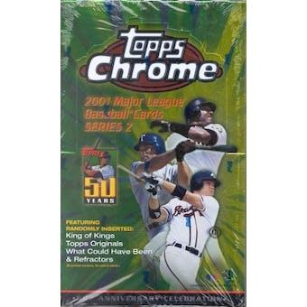 2001 Topps Chrome Series 2 Baseball Hobby Box