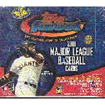 2001 Topps Finest Baseball Jumbo Box