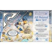 2001 Topps Gallery Baseball Hobby Box (Reed Buy)