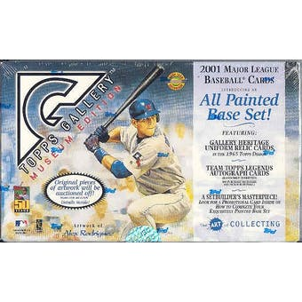 2001 Topps Gallery Baseball Hobby Box