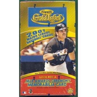 2001 Topps Gold Label Baseball Hobby Box