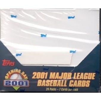 2001 Topps Opening Day Baseball Box