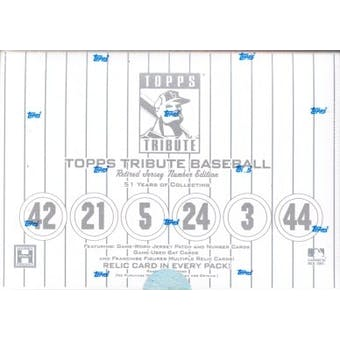 2001 Topps Tribute Baseball Hobby Box