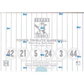 2001 Topps Tribute Baseball Hobby Box