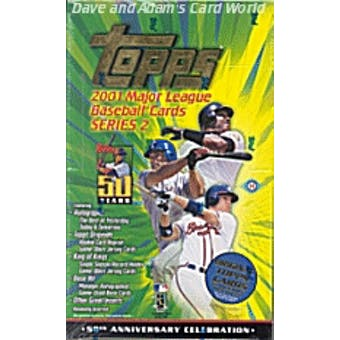 2001 Topps Series 2 Baseball Hobby Box