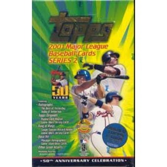 2001 Topps Series 2 Baseball Jumbo Box