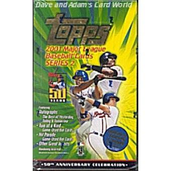 2001 Topps Series 2 Baseball 36 Pack Box