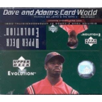 2001 Upper Deck Evolution Baseball 24 Pack Box