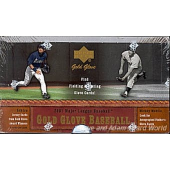 2001 Upper Deck Gold Glove Baseball Hobby Box