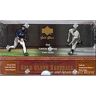 2001 Upper Deck Gold Glove Baseball Hobby Box
