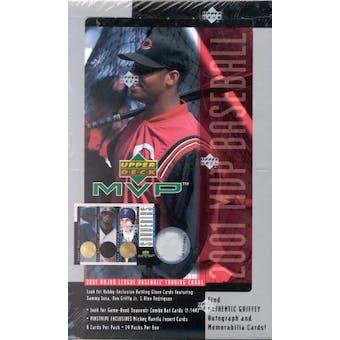 2001 Upper Deck MVP Baseball Hobby Box