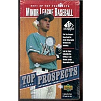2001 Upper Deck SP Top Prospects Baseball Hobby Box