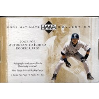 2001 Upper Deck Ultimate Collection Baseball Hobby Box