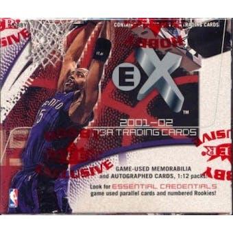 2001/02 Fleer Skybox E-X Basketball Hobby Box