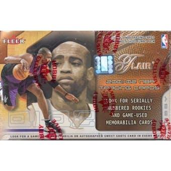 2001/02 Fleer Flair Basketball Hobby Box