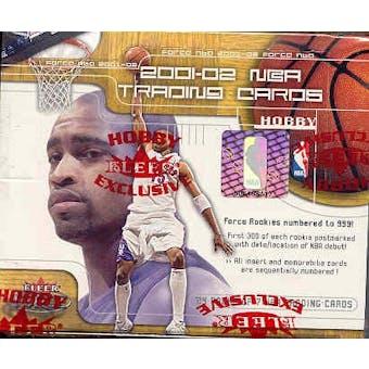 2001/02 Fleer Force Basketball Hobby Box