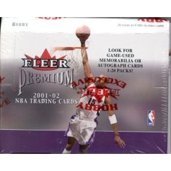 2001/02 Fleer Premium Basketball Hobby Box
