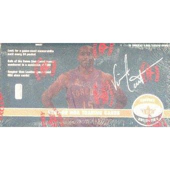 2001/02 Fleer Shoebox Basketball Hobby Box
