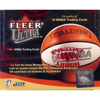 2001 Fleer Ultra WNBA Basketball Hobby Box