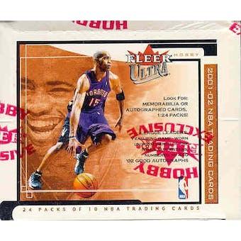 2001/02 Fleer Ultra Basketball Hobby Box