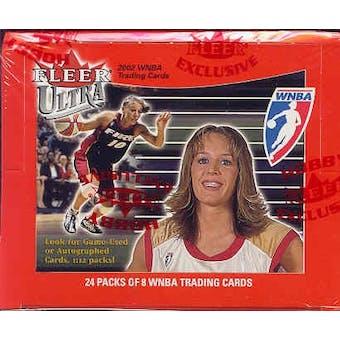 2002 Fleer Ultra WNBA Basketball Hobby Box