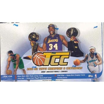 2001/02 Topps Champions & Contenders Basketball Hobby Box