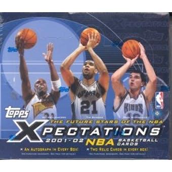 2001/02 Topps Xpectations Basketball Hobby Box