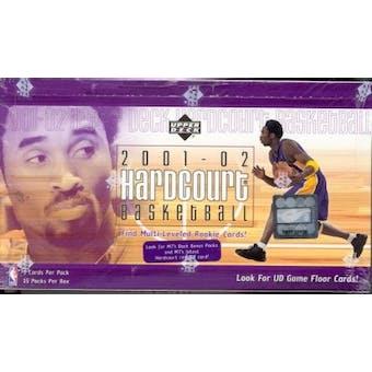 2001/02 Upper Deck Hardcourt Basketball Hobby Box