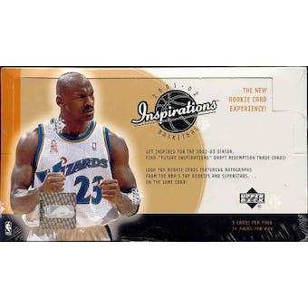 2001/02 Upper Deck Inspirations Basketball Hobby Box