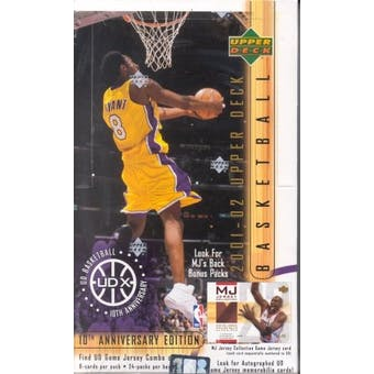 2001/02 Upper Deck Series 1 Basketball Hobby Box