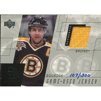 2000/01 Upper Deck e-Card Prizes #ERB Ray Bourque Yellow Jersey /300