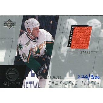 2000/01 Upper Deck e-Card Prizes #EBH Brett Hull Orange Jersey /300